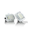 mercedes w204 w212 w221 numbrilaua led
