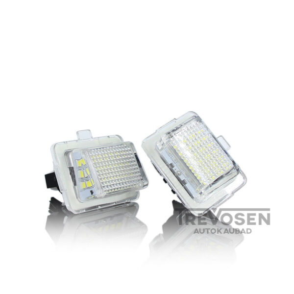 mercedes w205 w222 w218 numbrilaua led