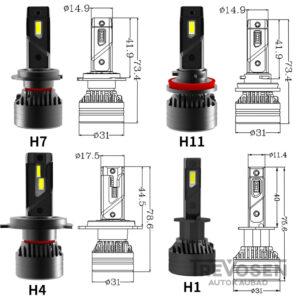 h1 led 2